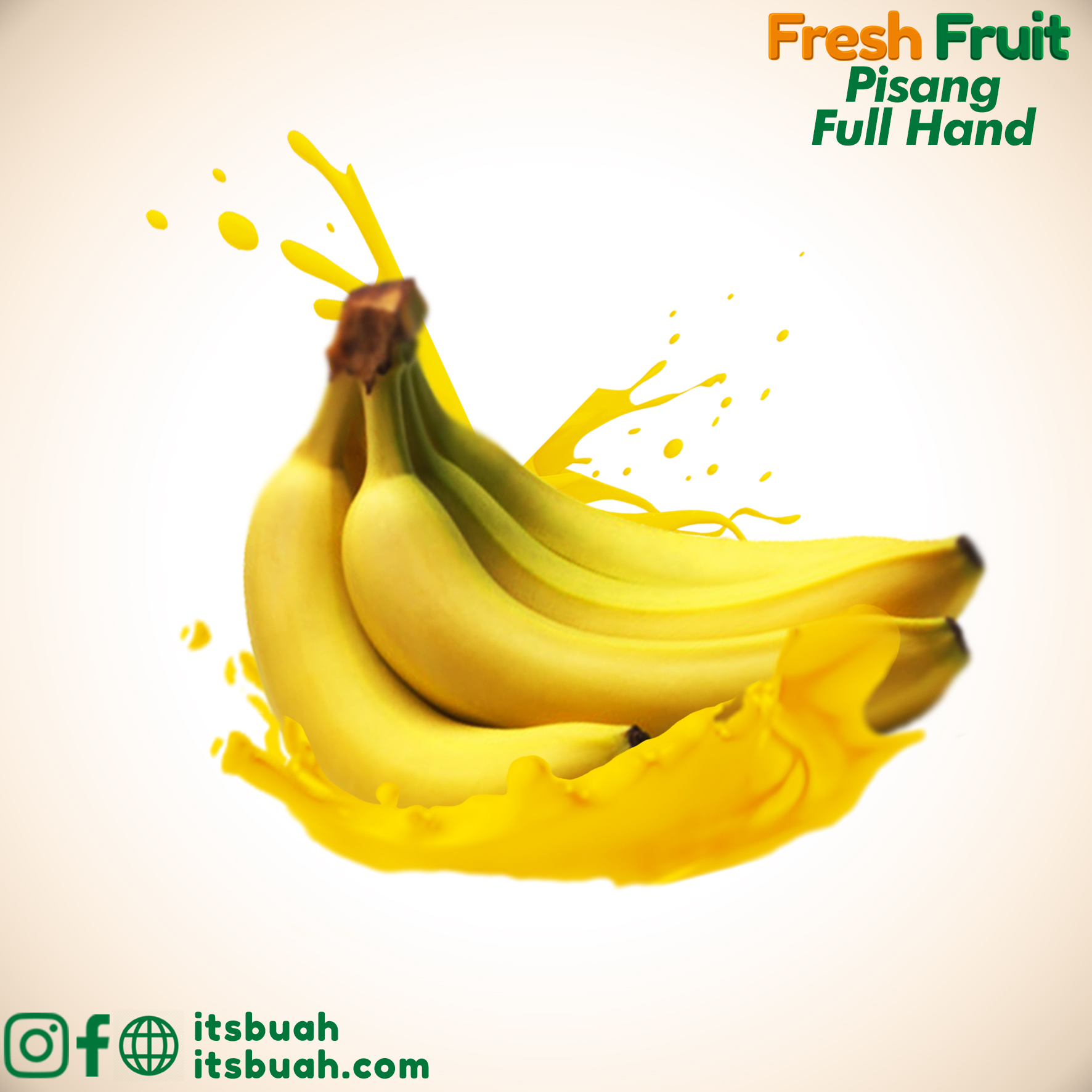 FB Ads - Fresh Fruit - Clean - Pisang FullHand