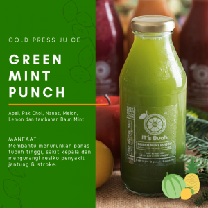 IT's Buah Green Mint Punch